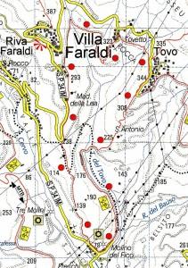 Circuito Tovo - Villa Faraldi