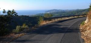 Immagine strada tra Tovo Faraldi e Chiappa - particolare